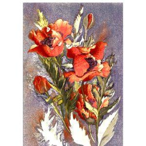 0421 Oriental Poppies