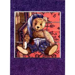 3712 Teddy Bear on Stairs