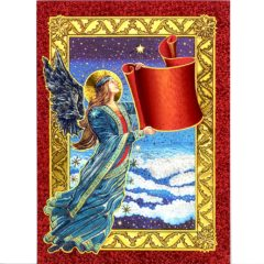 3729 Angel – write Your Wish on the Banner