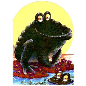 4164 Frog on Lili Pad