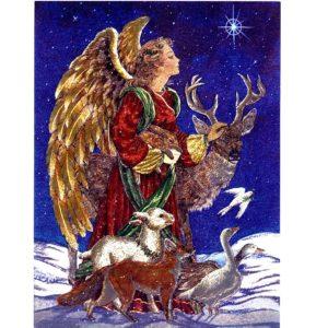 6596 Angel with Animals