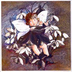 7014 Angel – Fairy in Flowers