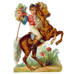 GE10 Rose Pony
