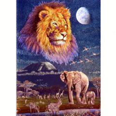 P1380 Spirit of Kilimanjaro – Elephant & Lion