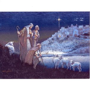 0702 While the Shepherds Watch