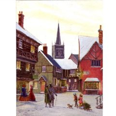 0709 A Victorian Street – print