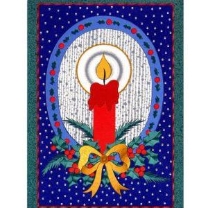 0716 Christmas Candle