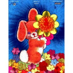 1033HB Rabbit with Flower