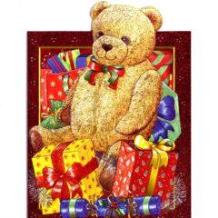 4153 Teddy Bear and Presents