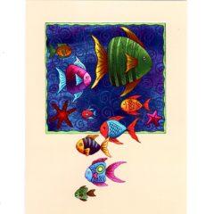 6420 Fish Swimming