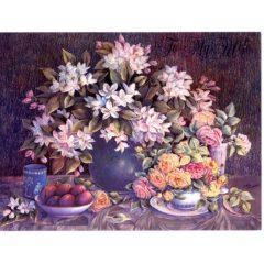 6504 Roses, Flowers, & Fruit
