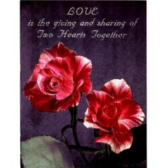 6606 Two Red Roses – Love