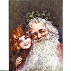 6633 Santa and Child