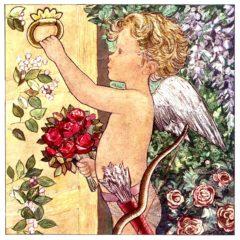 7005 Cupid at the Door by Jacqueline Fenton