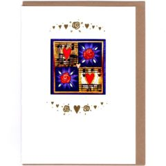 8142 Hearts & Roses – by Nikki Golesworthy