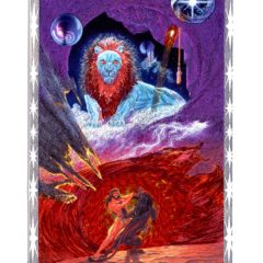 6418Z Leo – zodiac